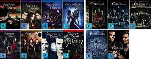 The Vampire Diaries Staffel 1-8 Die komplette Serie + The Originals Staffel 1-5 Die komplette Serie [DVD Set]