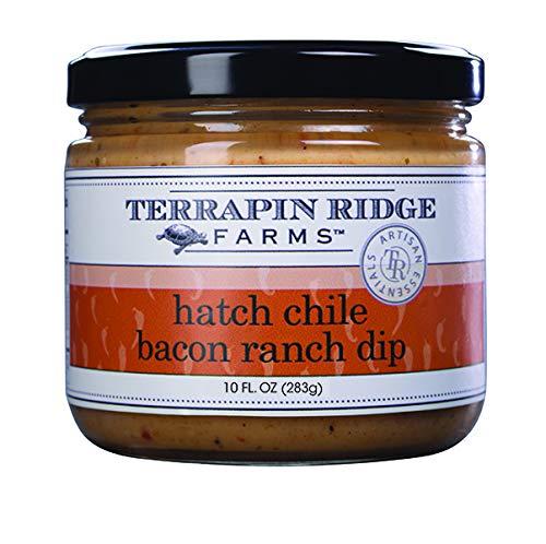 Hatch Chile Bacon Ranch Dip by Terrapin Ridge Farms – One 10 oz Jar