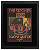 Mini-Poster, Motiv Strohes – Room on Fire, matt, 28,5 x