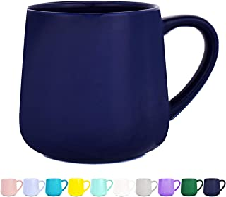 Glossy Ceramic Coffee Mug, Tea Cup for Office and Home, 18 oz, Dishwasher and Microwave Safe, 1 Pack (Royal Blue)