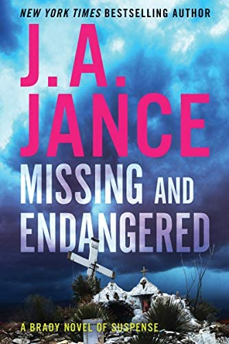 Missing and Endangered A Brady Novel of Suspense product image
