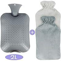 Bolsa de Agua Caliente de Punto con Funda acogedora CityComfort 2 L Material de Punto