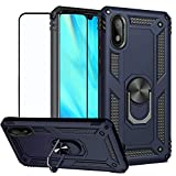 BestShare For Samsung Galaxy A10 Case with Tempered Glass