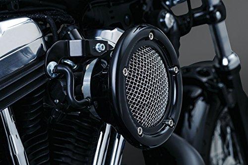 Kuryakyn Luchtfilter zwart Velociraptor x Harley Davidson Touring 08-Up, Softail 2016, Trikes
