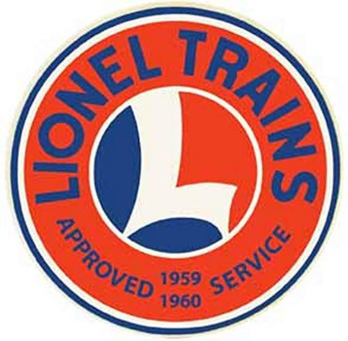 Lionel Trains Approved Service 1959 1960 Vintage Decal Sticker Souvenir Skateboard Laptop -  Vintage Style Roadtrip