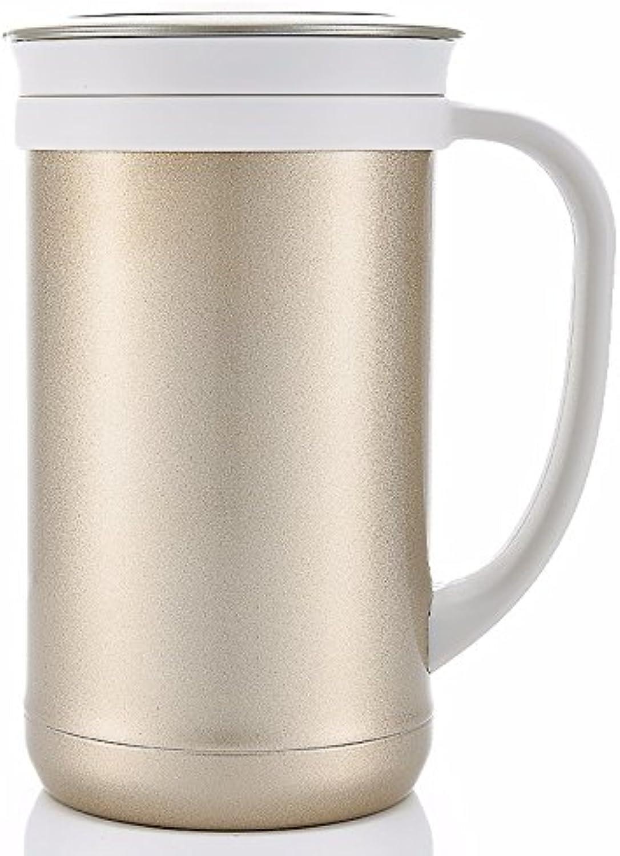TXTTXT Thermos Tasse Tasse à thé en Acier Inoxydable Vide thé Filtre Tasse Hommes Un Mugs Isotherme