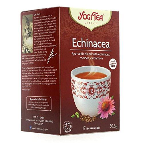 Yogi Tea | Echinacea - og | 4 x 17 bags