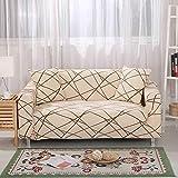 Funda de sofá elástica Funda elástica para sofá Sillones en Forma de L Funda seccional Sofá Toalla Funda de sofá Protector de Muebles A21 3 plazas