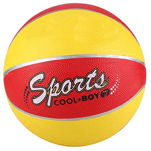Best Price Ruiqas Size 7 Rubber Basketball School Students Traning Equipment Indoor Outdoor Training...