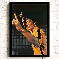 ポスター A3装飾画 壁の絵 Bruce Lee (85) 壁掛け アートパネル 絵画 壁の装飾画 壁ポス 42cm x 30cm フレームなし (ポスターのみ)