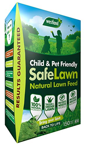 Westland SafeLawn Child and Pet Friendly Natural Lawn Feed 150 m2, Green, 5.25 kg