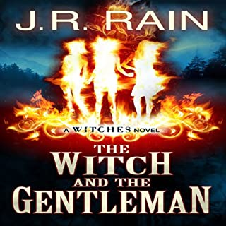 The Witch and the Gentleman audiobook cover art