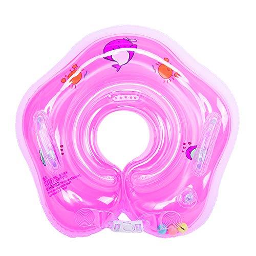Herbests Baby Schwimmring für Kinder 0-18 Monate Baby, Baby Infant Neck Float Ring Aufblasbarer Hals Schwimmring schwimmreifen Baby schwimmtrainer Kleinkinder Poolzubehör Schwimmreifen Spielzeug