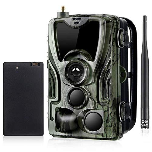 2G Wildlife Trail Cameras 16MP 1080P con 5000Mah Batería de...