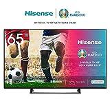 Hisense 65AE7200F 164cm (65 Zoll) Fernseher (4K Ultra HD, HDR, Triple Tuner DVB-C/S/S2/T/T2, Smart-TV, Mittelstandfuß, Frameless, Bluetooth,Alexa)