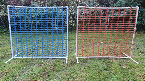 Wuzzmann 2er Set HOOPERS Agility Zaun blau/orange/Gate/Gatter/Trennzaun, aus Kunststoff, NADAC Hoopers