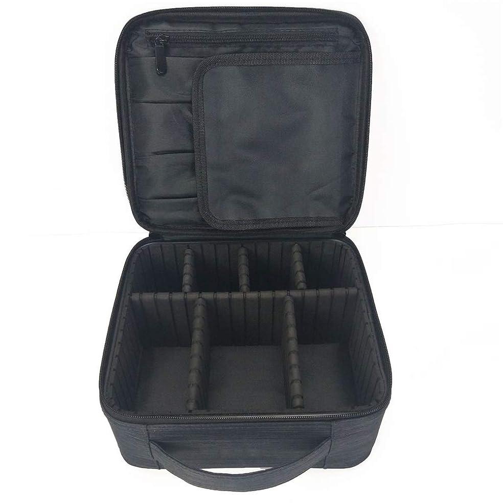 おとこジュニア旅特大スペース収納ビューティーボックス 女の子の女性旅行のための新しく、実用的な携帯用化粧箱およびロックおよび皿が付いている毎日の貯蔵 化粧品化粧台