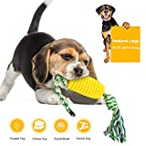 Indestructible Dog Christmas Toys Corn Cub Tough Durable Dog Toothbrush Toys For Aggressive Chewers...