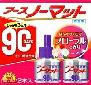 アースノーマット 取替えボトル 90日用 微香性 × 5個セット