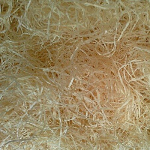 2kg Standard Holzwolle Öko Qualität PEFC Zertifiziert * sehr hell Dekomaterial Füllmaterial aus Deutschem Wald !