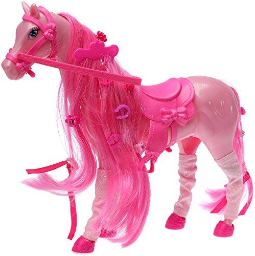 Simba 4661840 - Steffi Love Prinzessinnenpferd inklusive Zubehör, sortiert