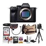 Sony Alpha a7R IV Mirrorless Digital Camera (Body Only) Bundle (8 Items)
