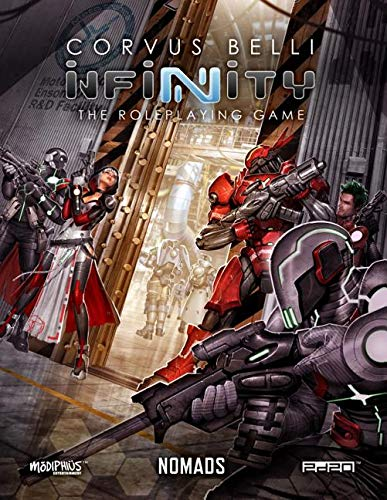 Infinity Nomads Infinity RPG Supp.