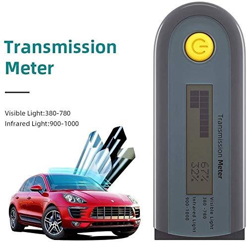 FASASFA Autofilmtester Sichtbare Tester Messung Lichtdurchlässigkeitstest Transmissionsmesser