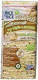 Probios Quadrette Multicereali con Miglio e Saraceno - 12 confezioni da 130 gr, Senza glutine