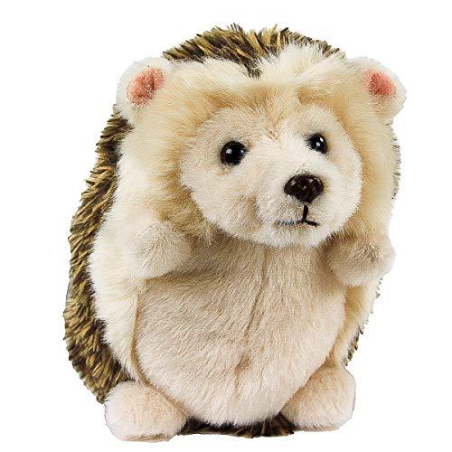 Teddys Rothenburg Kuscheltier Igel sitzend braun 14 cm Plüschigel