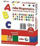 roba-kids- Juego de imanes con Alfabeto, Multicolor (roba Baumann 0021)