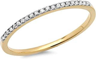 cheap yellow gold diamond rings