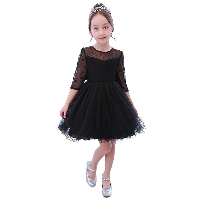 Getupp 子供ドレス 女の子 ワンイース 可愛い ピアノ 発表会 パーディー 演奏会 フォーマル 入園式 結婚式 ワンピース おしゃれ