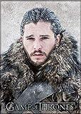 Ata-Boy Game of Thrones Jon Snow - Imán para neveras y taquillas (6,3 x 8,9 cm)...