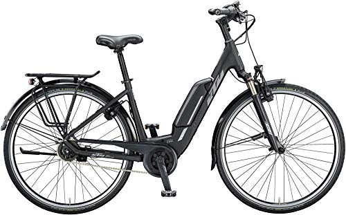 KTM Macina Central 5 RT XL Bosch Elektro Fahrrad 2020 (51 cm, Black Matt/Grey)