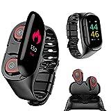 Best LEMFO Fitness Trackers - Wireless Bluetooth Earbuds Smartwatch Bracelet 2 in 1 Review