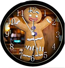 Krazy Klockz Glow in The Dark Wall Clock - Gingerbread Man
