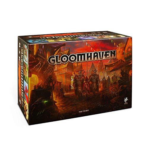 Asmodee Italia- Gloomhaven, 2a Ed. Gioco da Tavolo con splendide Miniature Edizione Interamente in Italiano, Colore, 10800