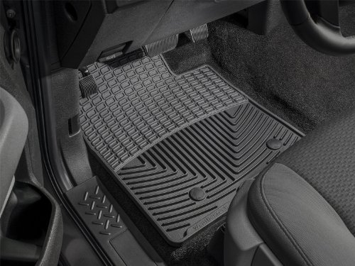 WeatherTech Trim to Fit Front Rubber Mats for Select Ford/Mazda/Mercury/Toyota Models (Black) :