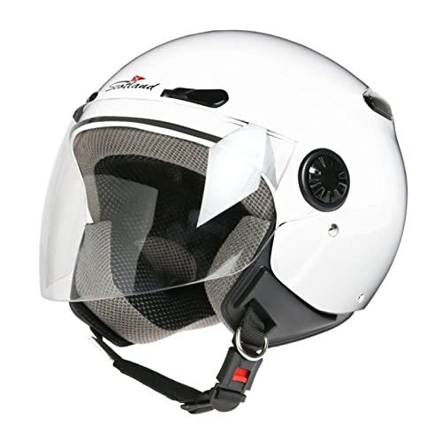 Amazon.es: Scotland D/Jet - Casco con Visera Larga, Blanco ...