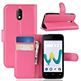 HDOMI Wiko Sunny 3 Mini Case,High Grade Leather Wallet