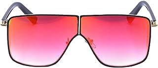 DishyKooker Women Fashion Sungalsses Siamese Lens Anti-UV