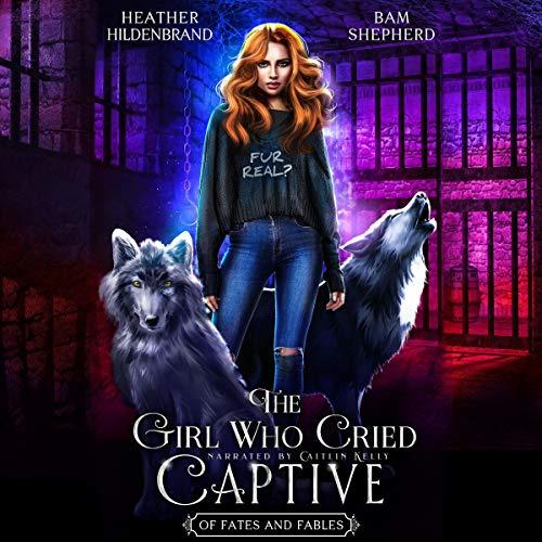 『The Girl Who Cried Captive』のカバーアート