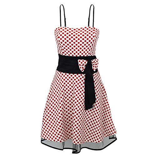 Laeticia Dreams dames jurk Petticoat Rockabilly S M L XL