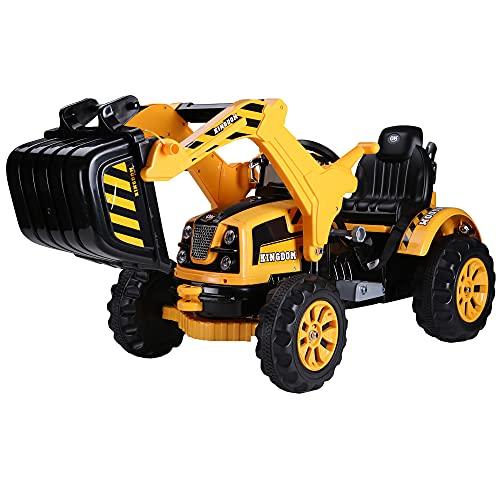 Homcom Elektro Radlader Traktor für...
