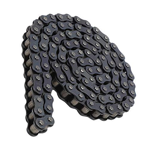 DAUERHAFT 428420 25H Cadena Tipo T8F 114120 70102 Secciones Cadena de Doble hilera para Triciclo eléctrico, para Bicicleta eléctrica(Type 428 Chain)