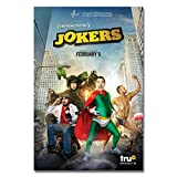 BILANA Impractical #Jokers 2017 Tru Tv Art Silk Poster Home Decor J045Gifts for Fan Lovers Posters No Framed