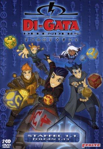 Di-Gata Defenders - Staffel 1.1/Folgen 01-13 [Edizione: Germania]