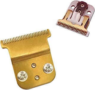 Pro Li Trimmer Replacement T Blade Ceramic Blade -Carbon Steel Blade for Andis Pro Li D8 (Double Gold Blade)