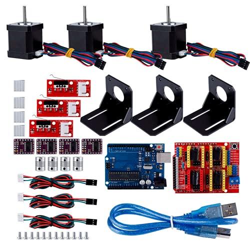caruisite 3D Printer Accessories, Shock Absorbers, Durable for 3D Printer Nema 17 Stepper Motor